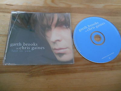 CD Country Garth Brooks as Chris Gaines - Lost In You (1 Song) Promo CAPITOL sc