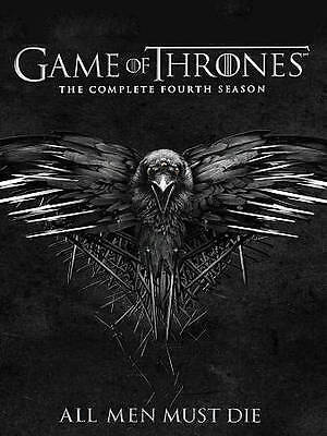 Game of Thrones: The Complete Fourth 4 4th Season (DVD, 2015, 4-Disc Set)