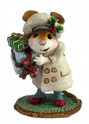 Wee Forest Folk M-326 Mary's Christmas Cream