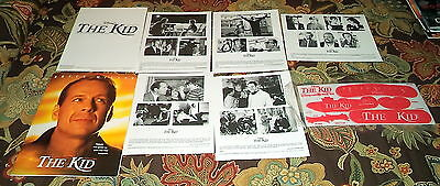 2000 Disney The Kid (with Bruce Willis) Movie Press Release Package/Kit