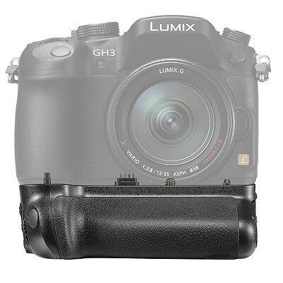 Neewer Battery Grip Replacement for DMW-BGGH3 for Panasonic Lumix DMC-GH3 GH4