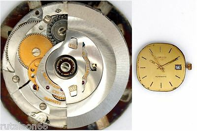 LONGINES L633.1 original automatic watch movement working   (3192)