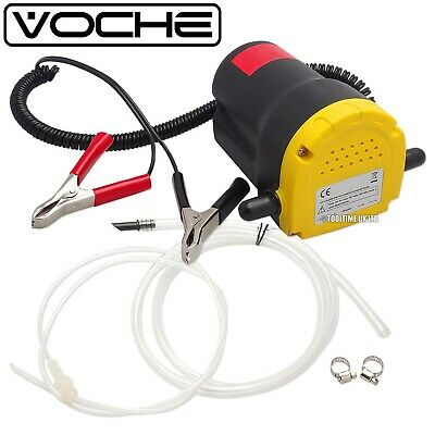 Voche® 60W Portable 12V Electric Fluid Extractor Oil Diesel Transfer Syphon Pump