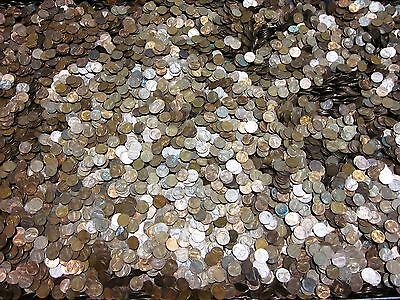 5,000+ Circulated 95% COPPER PENNIES - Bulk Bullion Lot, Unsearched, One Bag!