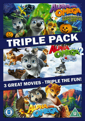 Alpha and Omega Triple DVD (2016) Anthony Bell ***NEW***