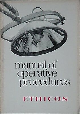 Ethicon (Somerville, New Jersey) Manual Of Surgery Operative Procedures, 1976