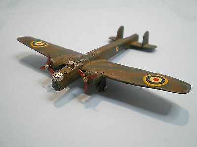 "Dinky toys No. 62T Pre-War Armstrong Whitworth ""Whitley"" issued in 1939"