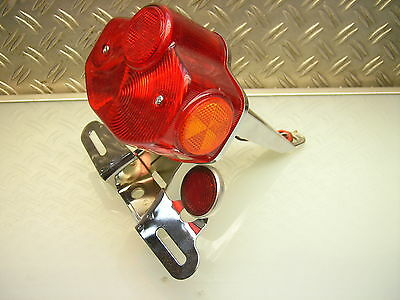 Rücklicht Chrom Usa-Version Rear Stop Tail Light Chrome Xs1 Xs2 Tx 750 Xs 650