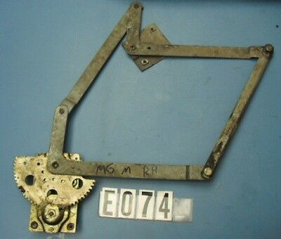 Used Oem .. Mg Midget / Austin Healey Sprite Right Door Window Regulator  E074