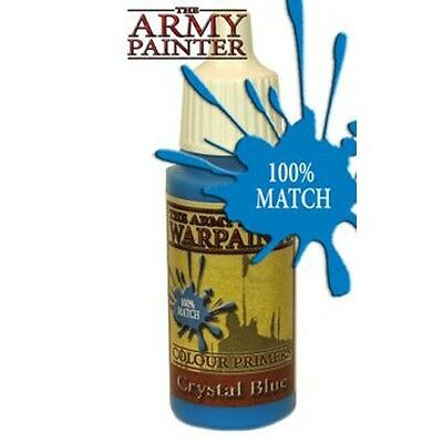 CRYSTAL BLUE Paint WP1114 (Army Painter) Brand New Sealed .6 oz 18 ml