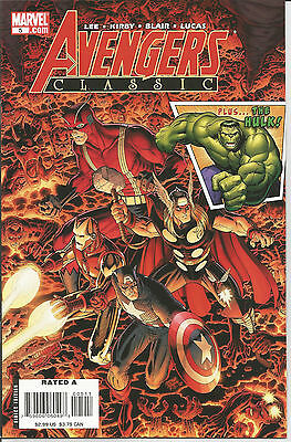 AVENGERS CLASSIC # 5 * Reprints Silver Age LEE & KIRBY  *