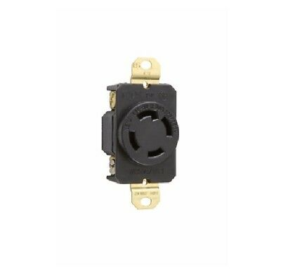 P & S L1430R Turnlok Single Receptacle, 4-Wire, 30A 125/250V, L14-30R - 3 Pack