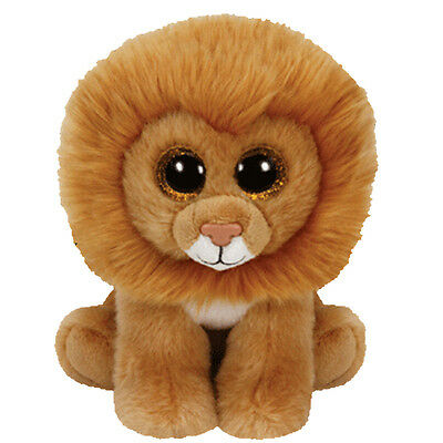 TY Beanie Baby - LOUIE the Lion (6 inch) - MWMTs Stuffed Animal Toy