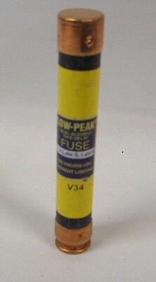 Lot of 8  Cooper Bussmann Low-Peak Dual-Element Time-Delay Fuse LPS-RK-4SP