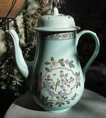 Vintage Adams Calyx Ware Singapore Bird Coffee Pot