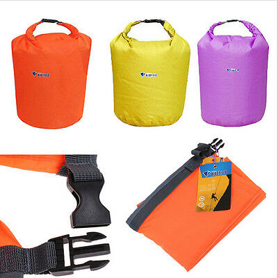 3 Sizes Outdoor Waterproof Canoe Swimming Camping Hiking Backpack Dry Bag Pouch