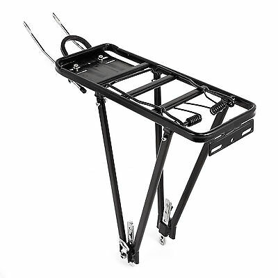 "Universal Bike Bicycle Alloy Luggage Rack Carrier Pannier 24 26 27 28"" 700c"