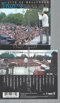 Cd--The Doors--Live In Hollywood -Bright Midnight-