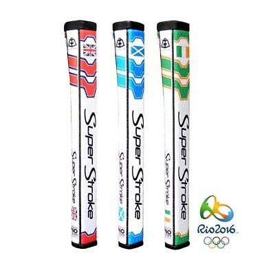 SuperStroke Golf Pistol GT 2.0 Putter Grip with CounterCore (Rio 2016 Olympics)