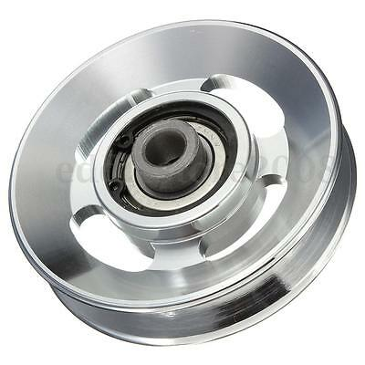Universal 88mm Aluminum Bearing Pulley Wheel Cable Gym Fitness Training Parts