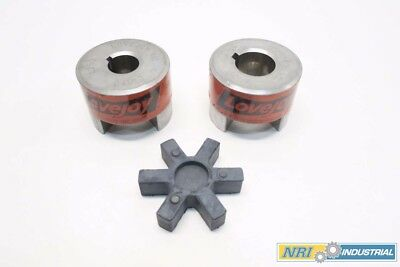 Lovejoy Assorted L-150 12117 1.625In 12111 1.250In Jaw Coupling Assembly D535802