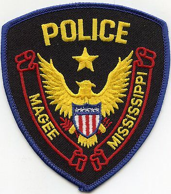 Magee Mississippi Ms Police Patch