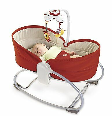 Tiny Love 00517-003 Convertible Seat to Napper 3 in 1 Baby Rocker Napper Red New