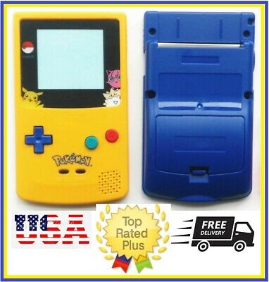 Nintendo Game Boy Color SHELL Replacement GBC Limited POKEMON SPECIAL EDITION