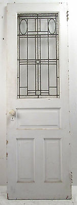 Vintage Stained Glass Door (8860)NJ
