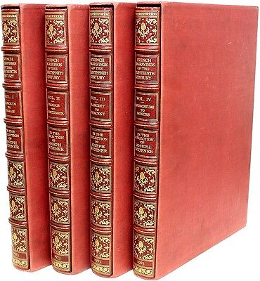 French Engravings of the 18th Century in the Collection of Joseph Widener 4 vols