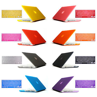 """For Macbook Pro 13"""" 13.3"""" A1278 Rubberized Hard Shell Cover Case + Keyboard Skin"""