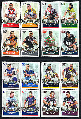 Australia - Centenary Of Rugby League - Blocks Of 4 - J34
