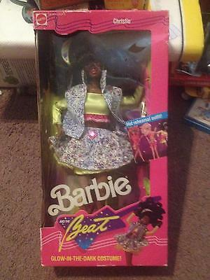 1989 Mattel African American Christie Barbie And The Beat Doll  <<<Nib