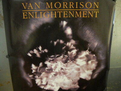 VAN MORRISON Large 1990 PROMO POSTER Enlightenment PERFECT CONDITION
