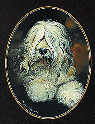 Old English Sheepdog  Lapel Pin
