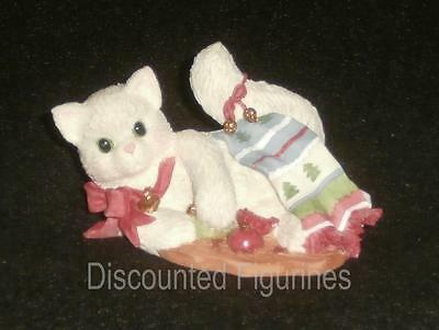 Calico Kittens Enesco Not Purr-fect Just Purr-fectly Happy Figurine #178403