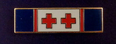 LIFE SAVING DOUBLE Police/Sheriff/Fire Dept/EMS Uniform Award/Commendation Bar