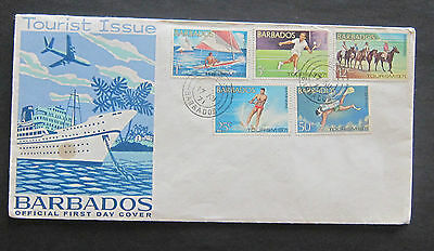 Barbados Tourist Issue Official first day cover 1971 Stamps