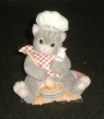Calico Kittens Enesco You're The Chef's Meow Figurine #254967 NEW IN BOX