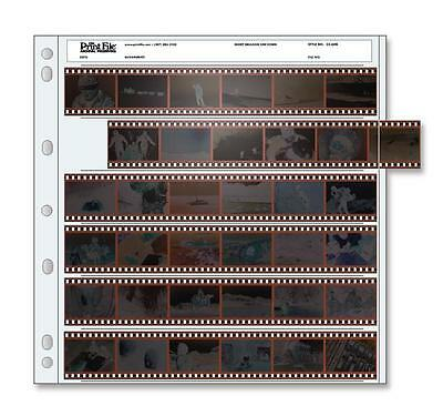 Print File 35-6HB Archival Storage 35mm Negatives Pack of 100 - 010-0040