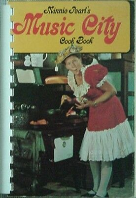 Minnie Pearl's Music City Cook Book, 1970 Book W/ Photos
