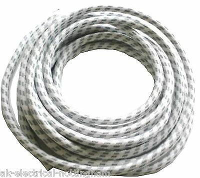 Steam Dry Iron 2 METRE 2m Replacement Braided 3 Core Flex Cable Cord Lead
