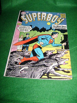 1964 Superboy #116 Featuring The Wolf - Boy Of Smallville Dc Comics