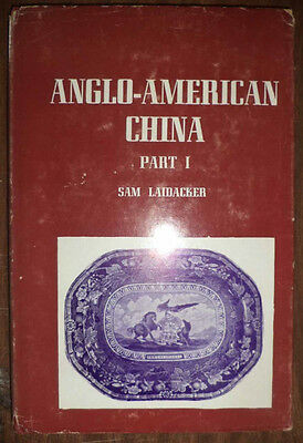 Rare Antique Anglo-American China Historical Views Subjects Hand Painted Wares++