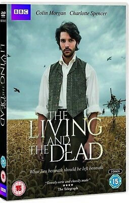 THE LIVING AND THE DEAD 1 (2016) BBC Supernatural TV Season Series R2 DVD not US