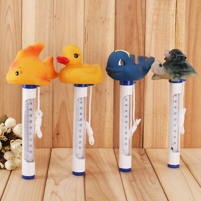 CUTE Animal Floating Thermometer Swimming Pool Spa Bath Tub Water Temperature