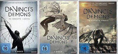 11 DVDs * DA VINCI´S DEMONS - SEASON / STAFFEL 1 + 2 + 3 IM SET # NEU OVP $