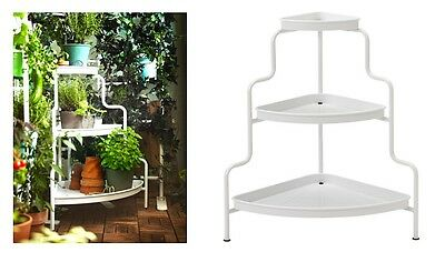 Ikea Socker Plant Flower Indoor Outdoor Stand Herb White New