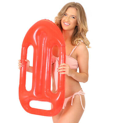 73 Cm Inflatable Lifeguard Float Red Life Saver Fancy Dress Accessory Beach Stag