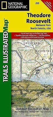 National Geographic Trails Illustrated Map: Theodore Roosevelt National Park...